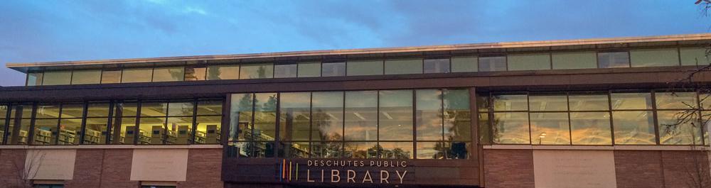 Downtown Bend Library Deschutes Public Library