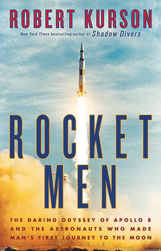 """04c79f7c9367 Robert Kurson s Rocket Men Selected as """"A Novel Idea"""" 2019 Community Read"""