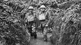 Men in Trench