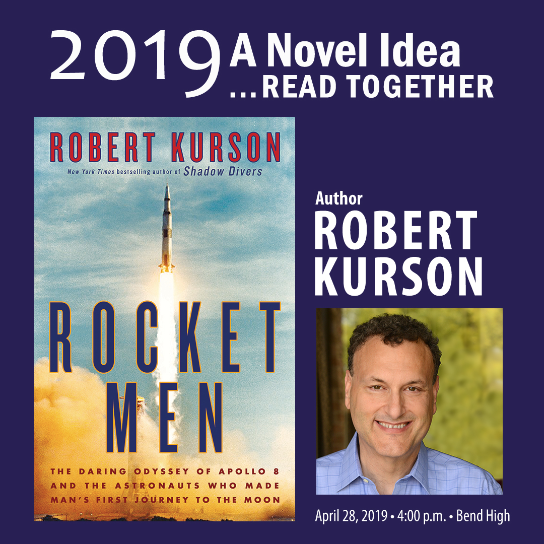 """cdad05f41b44 Deschutes Public Library proudly announces the 16th annual celebration of  """"A Novel Idea…Read Together."""" Each year """"A Novel Idea"""" brings together  thousands ..."""