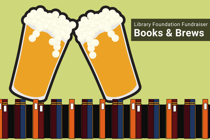 Support the Library Foundation with Books & Brews Image