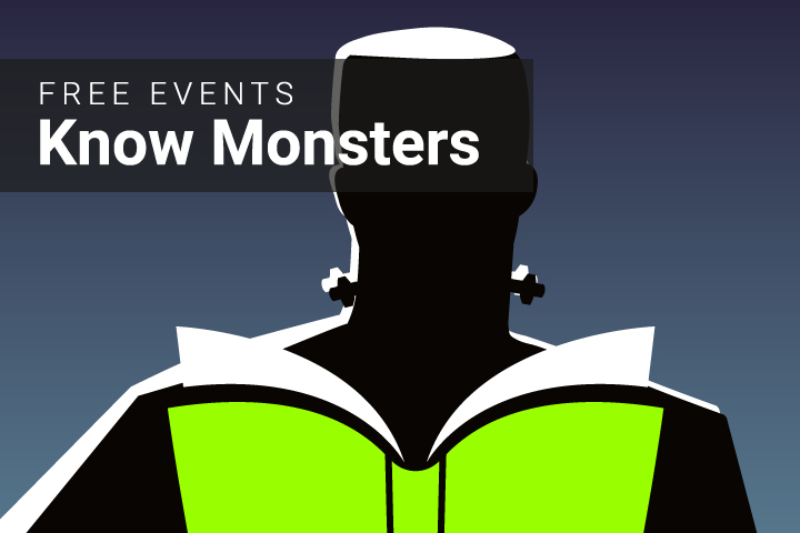 Know Monsters in October at Deschutes Public Library