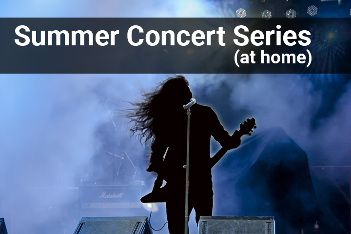 2020 Summer Concerts At Home Image