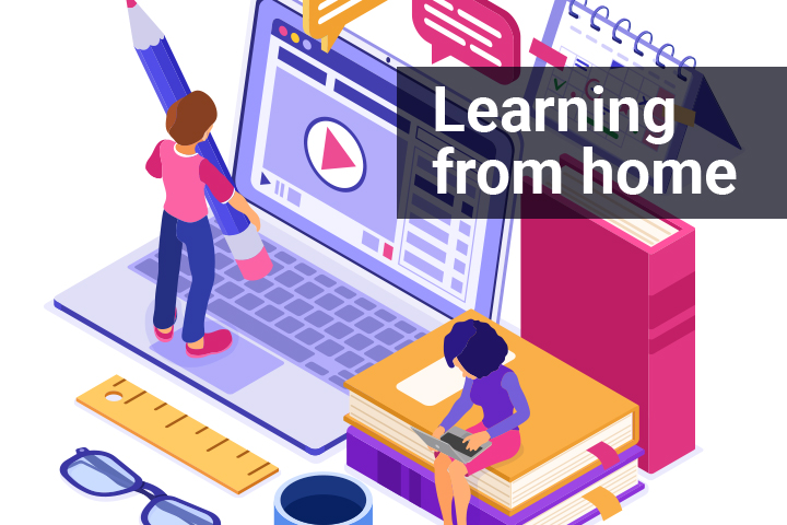 Learning from Home Image
