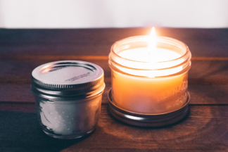 Microwave Candle Craft